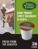 Green Mountain Coffee Fair Trade Spicy Eggnog, K-Cup Portion Pack for Keurig Brewers 24-Count - http://www.freeshippingcoffee.com/specialty/flavored-coffee/green-mountain-coffee-fair-trade-spicy-eggnog-k-cup-portion-pack-for-keurig-brewers-24-count/ - #FlavoredCoffee