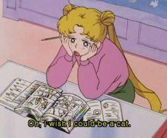 Me too, Usagi 🌸 Sailor Moon Sailor Moons, Sailor Moon Quotes, Sailor Neptune, Sailor Moon Funny, Sailor Moon Tumblr, Sailor Moon Cat, Manga Tutorial, Quote Aesthetic, Aesthetic Anime
