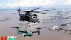 Amazing The Biggest and Heaviest Helicopter (UH-60, V-22, CH-53, AV-8B) ...