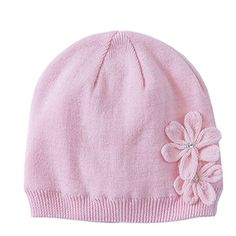 Connectyle Baby Toddler Girl's Warm Winter Hat Soft Cotto... http://a.co/1SbK9AM
