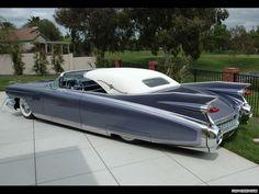 1959 model Cadillac De'ville Convertible