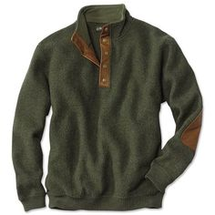 Boiled-wool Snap-front Pullover and other apparel, accessories and trends. Browse and shop related looks.