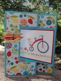 """CCREW0812HF Moving Forward with a """"Flip-Flop"""" Card 