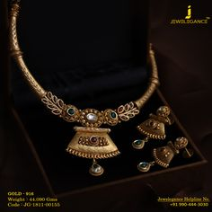 Gold 916 Premium Design Get in touch with us on Aztec Jewelry, Ear Jewelry, Beaded Jewelry, Gold Jewelry, Gold Bangles Design, Gold Jewellery Design, Bridal Jewellery, Fashion Jewellery, Handmade Jewellery