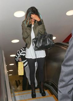May 8, 2014 - Kylie Jenner at LAX Airport.... - Celebrity Street Style