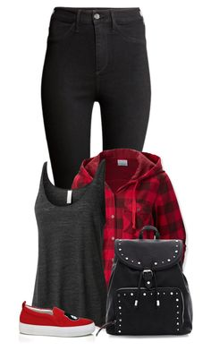 """""""Untitled #1094"""" by directioner-123-ii ❤ liked on Polyvore featuring H&M, Columbia, LE3NO and Joshua Sanders"""