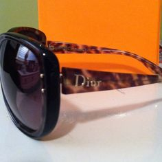 ❤Reduced❤Christian Dior Sunglasses. Worn once!! Christian Dior  sunglasses. Tortoise shell with gold letters. Worn once. Christian Dior  Accessories Sunglasses