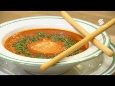 """خفيف ظريف : مع الشاف فارس تحضير طبق """" حساء بالفلفل الحلو الأحمر """" - Samira Tv - YouTube"""