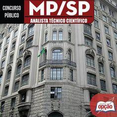 Apostila Concurso Ministério Público do Estado de São Paulo - MP/SP - 2016: - Cargo: Analista Técnico Científico - Diversas Especialidades