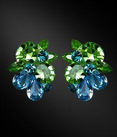 Zdenka Akro Rhinestone earring UH09003-81 - Rhinestone Jewelry | Dancesport Fashion @ DanceShopper.com