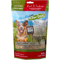 Freeze Dried Meaty Rox, Beef, 5.5 oz >>> Find out more about the great product at the image link. (This is an affiliate link and I receive a commission for the sales)