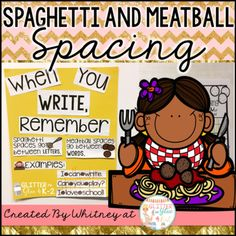Spaghetti and meatballs, Spaghetti and Writing on Pinterest