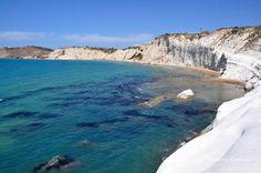 A unique gift of Mother Nature is waiting for you at Scala dei Turchi: large rounded white steps that the wind and the salt eroded from a mountain overhanging the sea... a cascade of colors leading to the clear blue waters of the Mediterranean. Unforgettable! http://www.scentofsicily.com/villas-in-sicily/