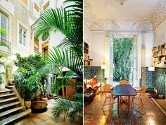 A crumbling and deteriorating 18th-century flat in the middle of Barcelona has found new life in the hands of architect Benedetta Tagliabue.