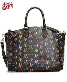 Dooney & Bourke Handbag, Eva Collection Multi DB Satchel