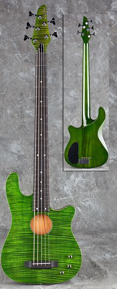 Carvin AC50 5 string bass guitar