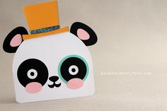 {free download} Panda-Monium Cards Cut Its (SVG) | Under A Cherry Tree