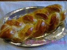 Treccione di pan brioche salato   cuciniamo insieme con Mary