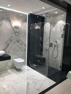The Best 2019 Interior Design Trends - Interior Design Ideas Best Bathroom Designs, Bathroom Design Luxury, Modern Bathroom Design, Small Full Bathroom, Modern Bathrooms Interior, White Marble Bathrooms, Bathroom Styling, Bathroom Inspiration, Decoration