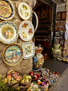 Ravello, Amalfi Coast, Italy - Beautiful Ceramics
