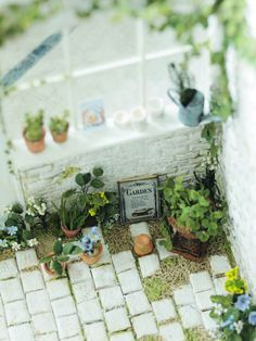 natural garden miniature Miniature Plants, Miniature Rooms, Miniature Fairy Gardens, Miniature Houses, Miniature Furniture, Vitrine Miniature, Mini Doll House, Mini Plants, Minis