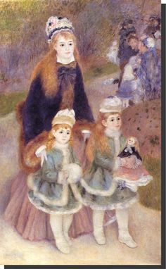 La jeune mère dit- La Promenade (1874) - Metropolitain Museum of Art, New York