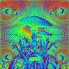 Fractal Images, Fractal Art, Fractals, Trippy Gif, Trippy Stuff, Optical Illusion Gif, Optical Illusions, Poetry Art, Mushroom Art