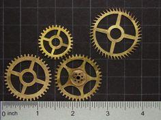 Steampunk Supplies vintage clock movement by SteampunkArtSupplies, $10.95  #steampunk #artsupplies