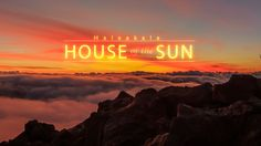 "House of the Sun. Haleakala, ""The House of the Sun"" In Maui 10,000 foot high summit legendary for its views of sunrise and sunset"