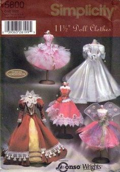 Free Copy of Pattern - Simplicity 5800