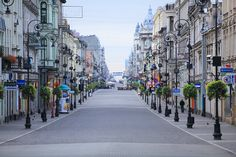 Shopping street in Łódź, Poland's third largest city. Great Smoky Mountains, Hidden Places, Places To Go, Lonely Planet, Travel Around The World, Around The Worlds, World Discovery, Poland Travel, Equador