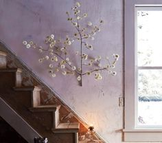 flowering branch wall sconce - Google Search