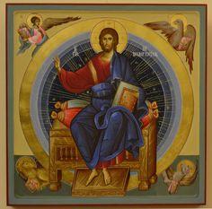 Christ the Pantocrator gospod_vsederzhitel. Byzantine Icons, Byzantine Art, Religious Images, Religious Art, Church Icon, Religion, Orthodox Christianity, Orthodox Icons, Gold Art