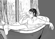 BATHTUB MAGNUS! by Cassandra Jean after she read the Runaway Queen )
