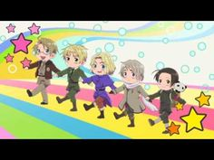 Hetalia   Axis Powers Ending - YouTube