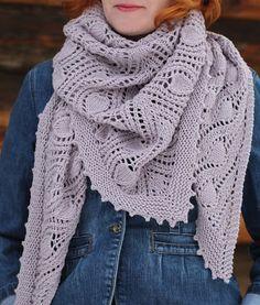 "Katya Gorbacheva knits: Шаль ""Туманный лес"" (MK)"