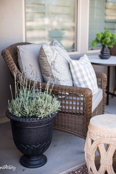 I use BHG Walmart products to update big and small places around our home! Check out some of our updates here. Our front porch is a small little …