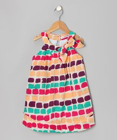 Take a look at this Yellow Reese Yoke Dress - Infant, Toddler & Girls by KandyCrew on #zulily today!