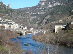 A village along the Tarn river a little bit north of Millau in the Aveyron