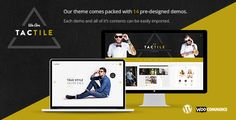 Tactile ¨C Modern and Sharp Multi-Concept Theme by Edge-Themes  Theme Features Easy-to-Use Powerful Admin Interface Multiple Header Layouts Top and side positions for header Separate Logo for M