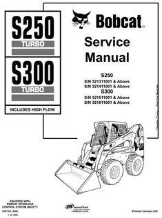 Bobcat 773 G-Series Skid Steer Loader Service Repair