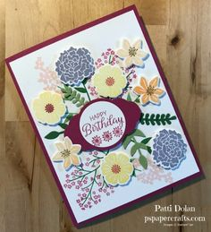 Beautiful Bouquet Cards — P.S. Paper Crafts