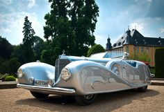 1936Mercedes-Benz 500K Streamline Roadster by Erdmann and Rossi