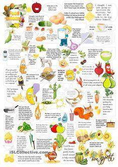 Food idioms worksheet - Free ESL printable worksheets made by teachers