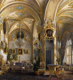 Rococo. Amazing architecture and detail, love the study of. (=