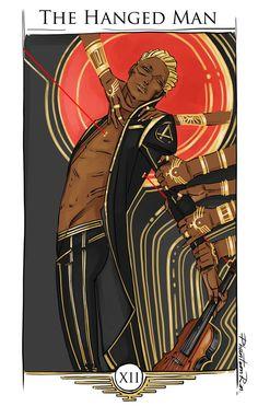 Tactus as The Hanged Man #piercebrown #redrising #irongold
