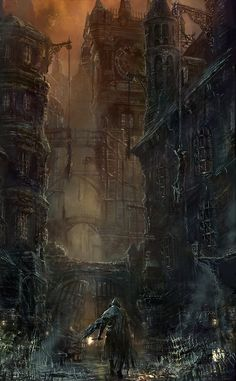 fantasy-art-engine: Bloodborne Concept Art by From Software Art. Bloodborne Concept Art, Bloodborne Art, Dark Fantasy, Fantasy Kunst, Fantasy Art, Arte Dark Souls, Software Art, From Software, 3d Art