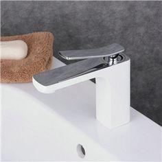 Modern Simple Bathroom Products Single Hole Single Handle Sink Faucet