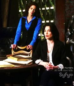 Warehouse13, the best new thing in a long time, and not JUST because of H.G. Although H.G may be a big part of it.