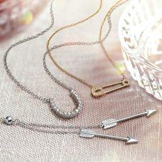 Double Love Pendant ✨ #blingjewelry
